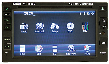 Double Din PA DVD Radio